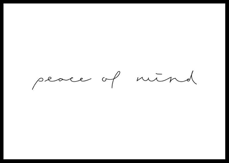 Peace of mind-0