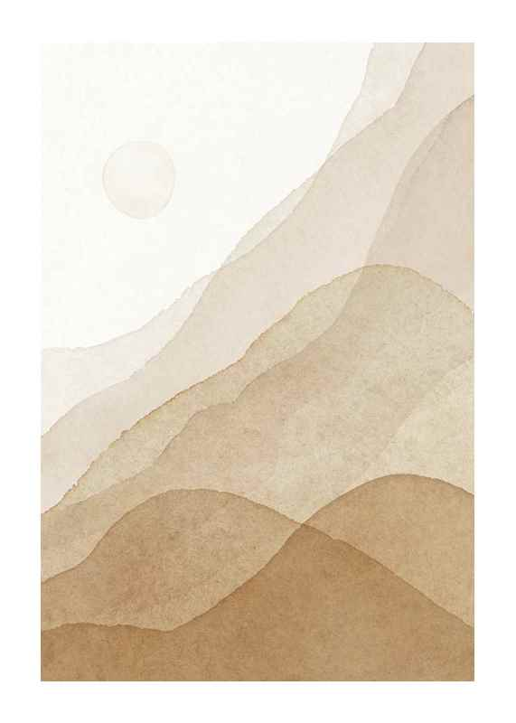 Abstract Scenery No1-1