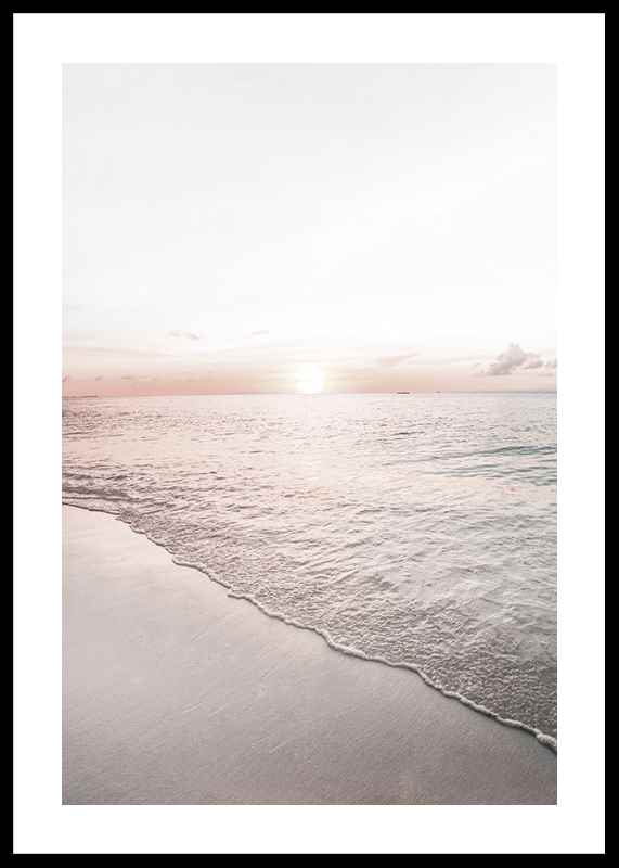 Calm Beach Sunset-0