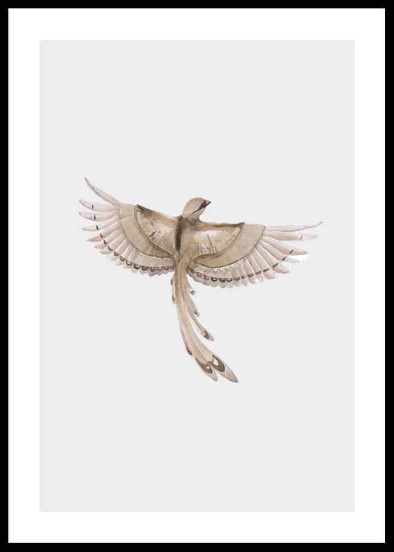 Watercolor Jay Bird-0