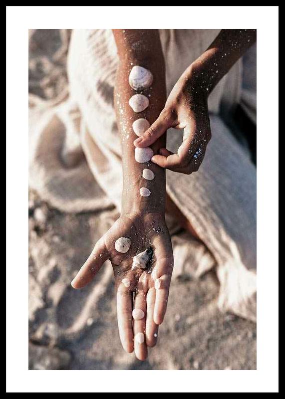 Sea Shells On Arm