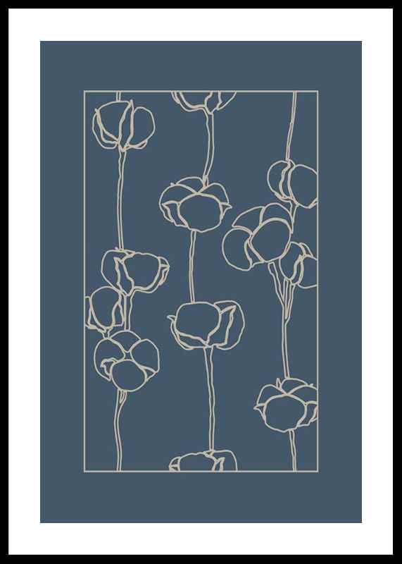 Botanical Line Art No2