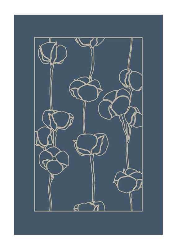 Botanical Line Art No2-1