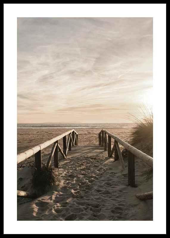 Path On Sand