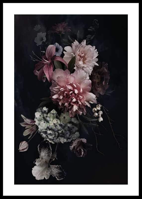 Vintage Flower Bouquet-0