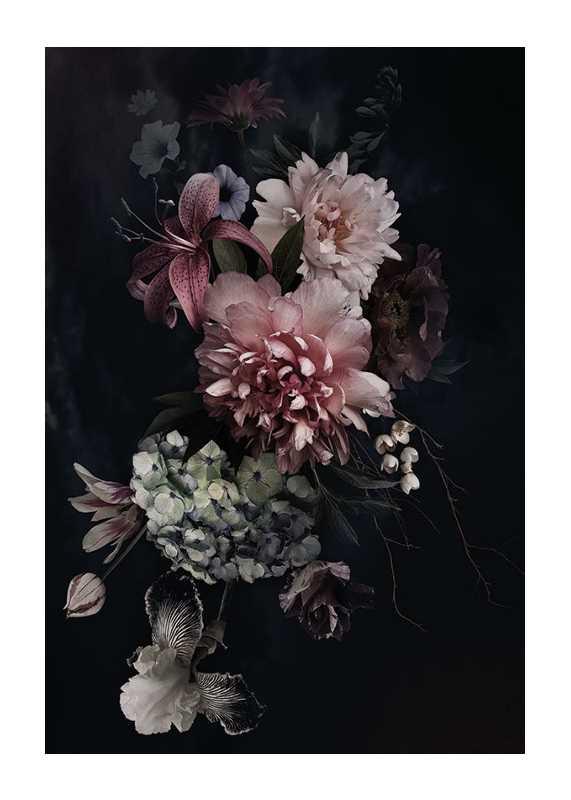 Vintage Flower Bouquet-1