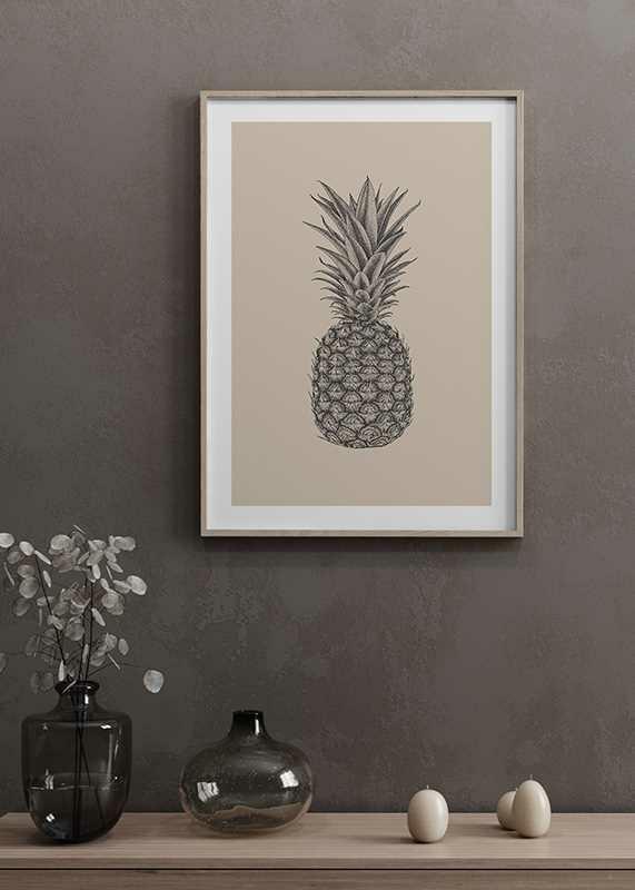Pineapple Sketch-4