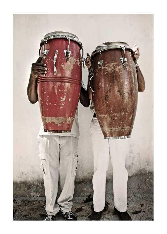 Playing The Bongo-1