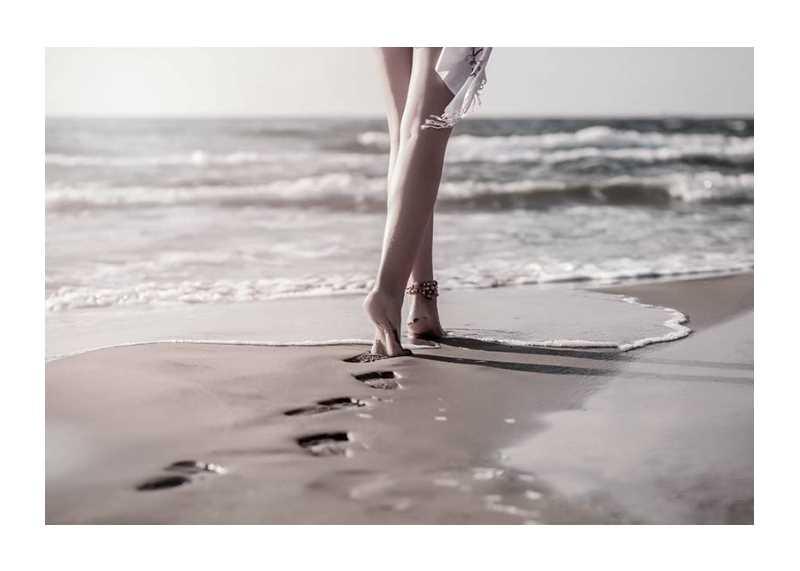 Beach Footprints-1