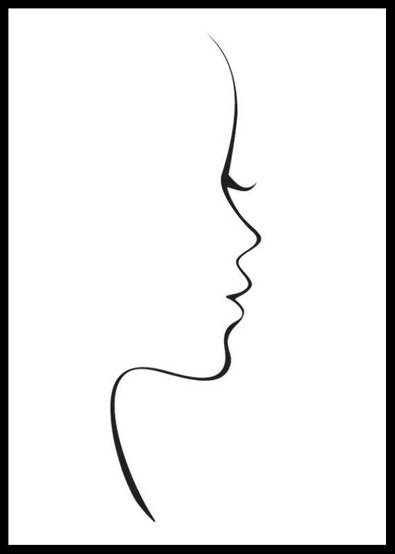 Line Art Siluette