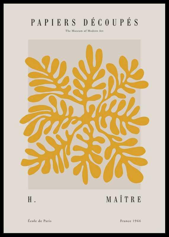 Matisse Papiers Decoupes No2-0