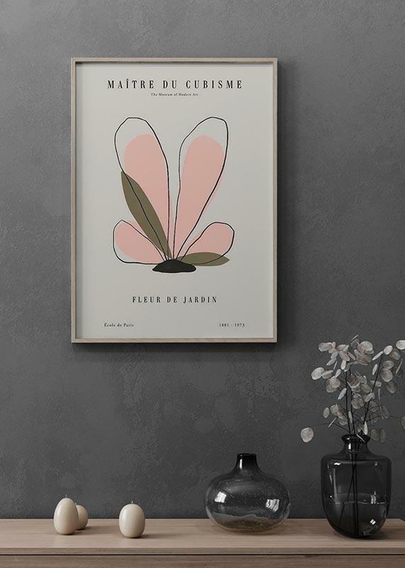 Picasso Fleur Du Cubisme-2