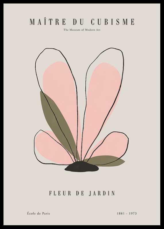 Picasso Fleur Du Cubisme-0