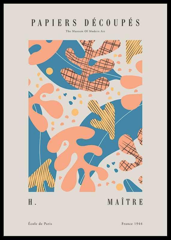 Matisse Papiers Decoupes No4-0