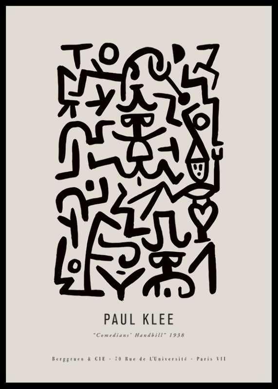 Paul Klee Comedians