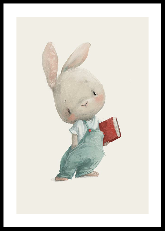 Hare With A Book