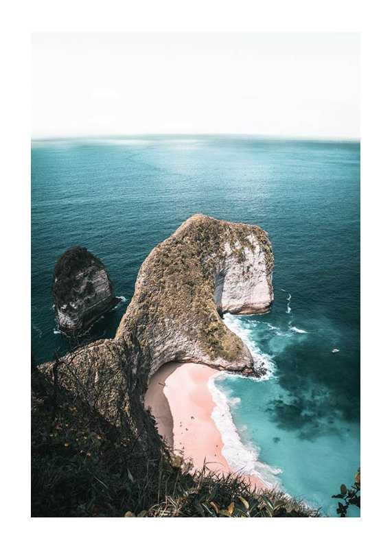 Rocks On Sea Shore-1