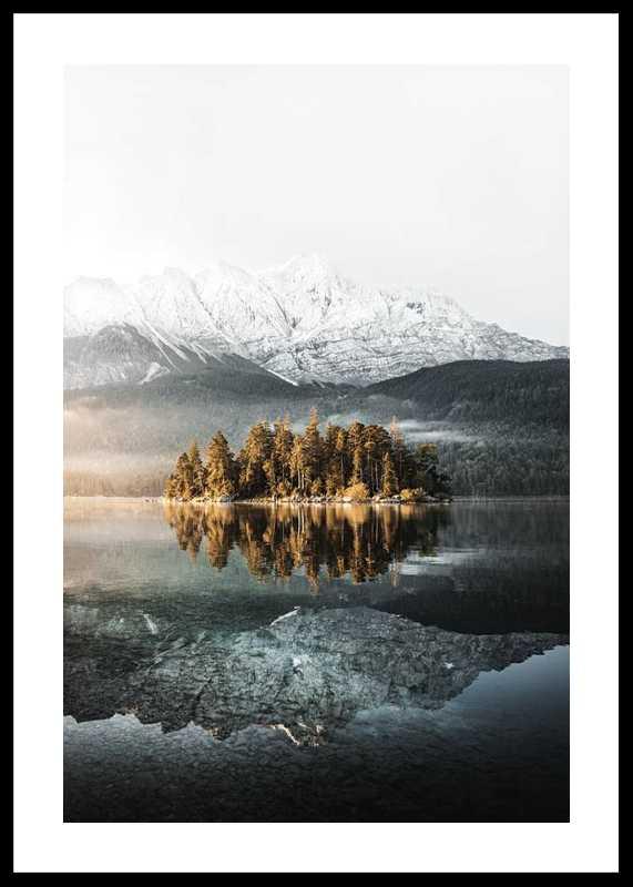 Lake By Mountains-0