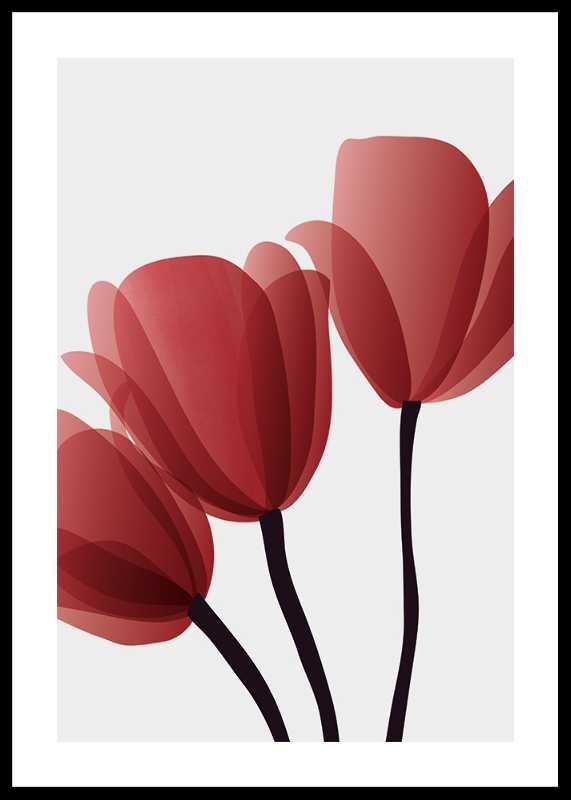Red Tulips No2