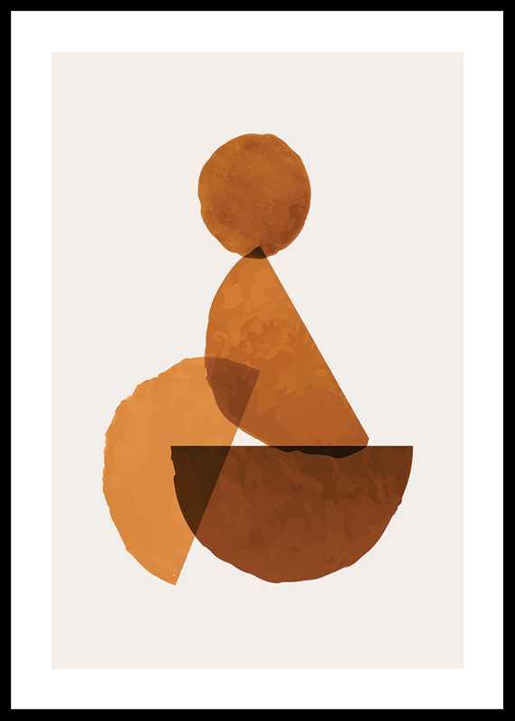Abstract Maroon No1
